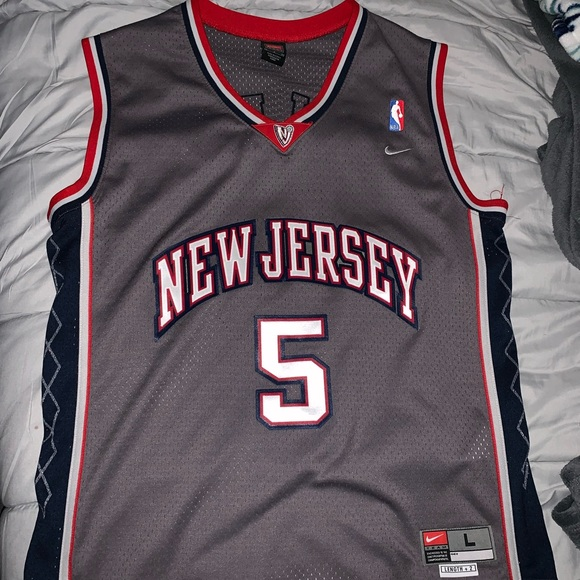 best website 220f5 fd736 new jersey nets jersey jason kidd